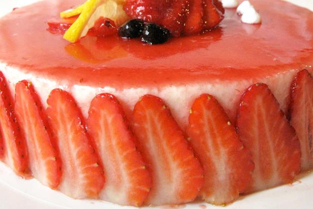 aardbeienbavarois