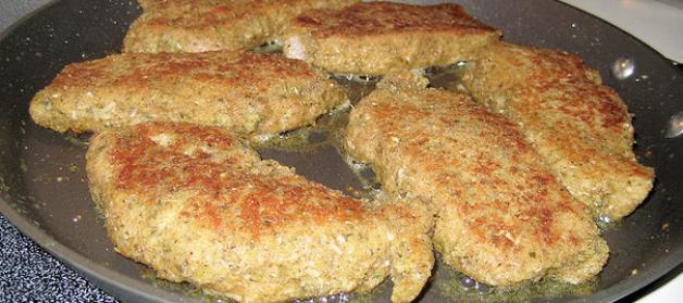 gebakkenvarkenslapjes