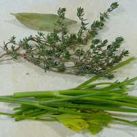 Kruidenboeket of bouquet garni