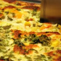 Lasagna van pompoen en pastinaak